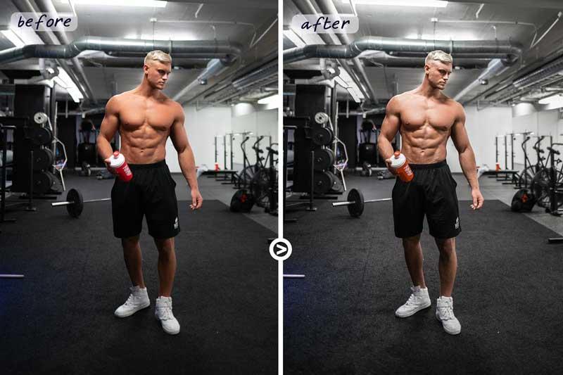 Gym & Fitness - Sport LUTs [Lighroom Presets]