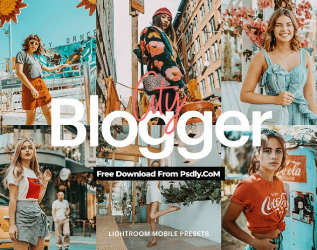 Lightroom Preset Blogger City Theme 4971945 Free Download