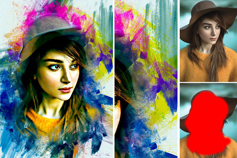 Paint Photoshop Action 4237606