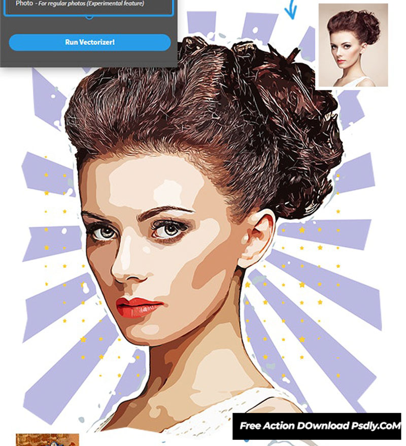 Vectoreal - Real Vector Painting & Converter Photoshop Plugin 26621382