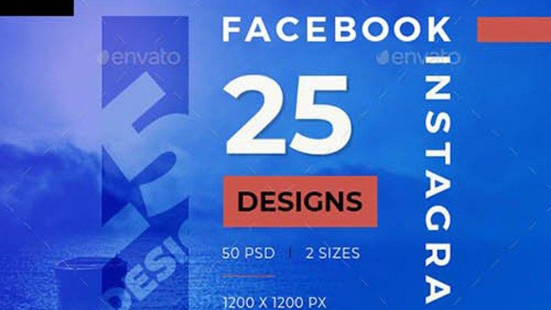 25 Facebook & Instagram Multipurpose Banners 26649737