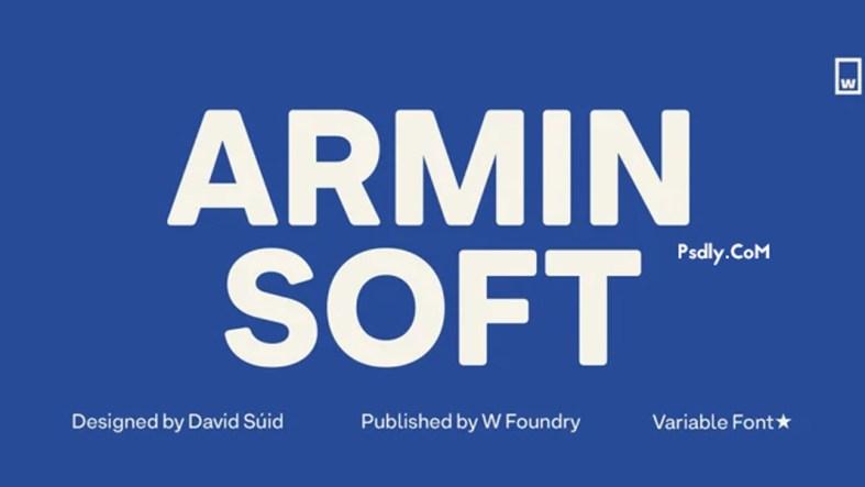 Armin Soft Font Family