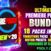 CINEPUNCH (BUNDLE) – Transitions I Color LUTs I SFX – 18 PACKS – 9999+ Assets 20601772