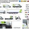 Delivery Cargo Transport Mockup 1543214