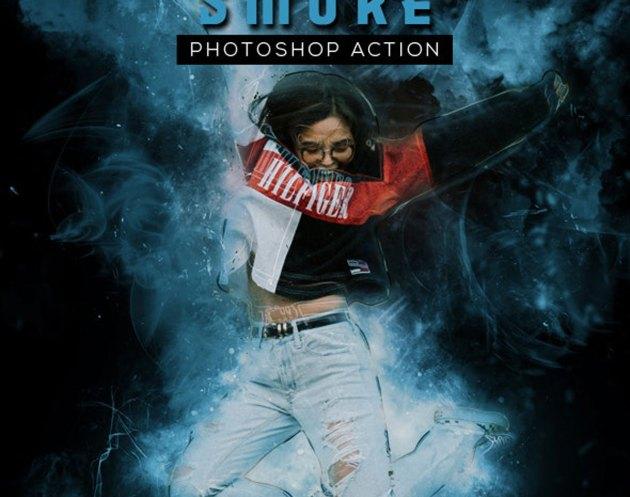 GraphicRiver - Smoke Photoshop Action 27098975