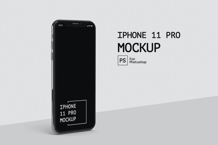 IPhone 11 Pro Side View Mockup RZ