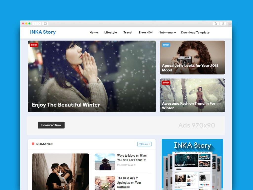 Material Design Blogger Theme