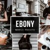 Mobile lightroom Presets EBONY 5025514