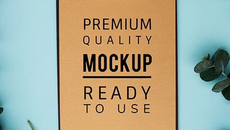 Mockup design space on a clipboard - 295982