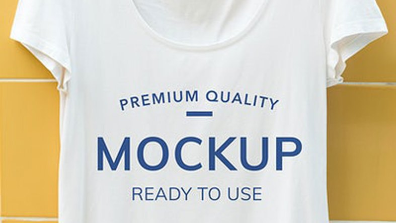 Mockup design space on a tshirt - 295986