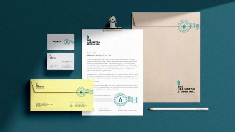 Stationery Branding PSD Mockup Vol.05
