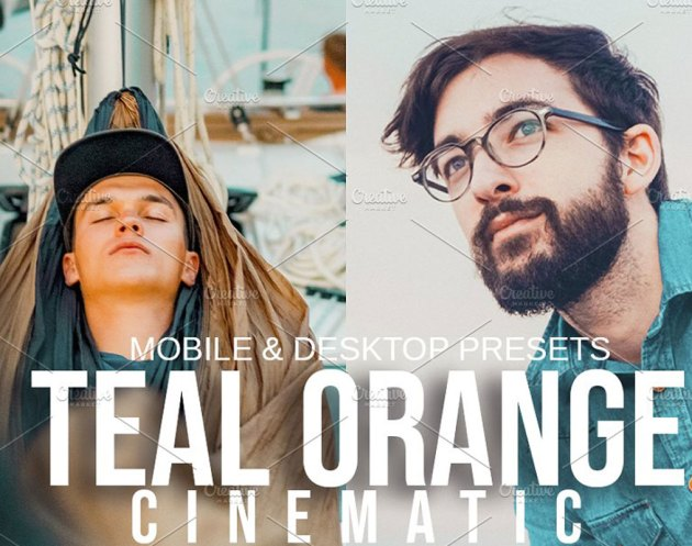 TEAL ORANGE CINEMATIC Presets 5122809
