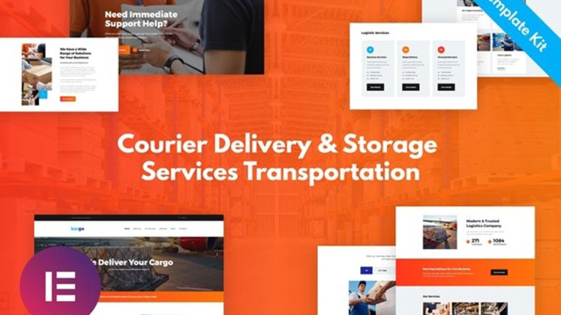 ThemeForest Kargo Delivery Storage Template Kit 27035960