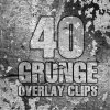 Videohive 40 Grunge Overlay Clips Pack 23591167