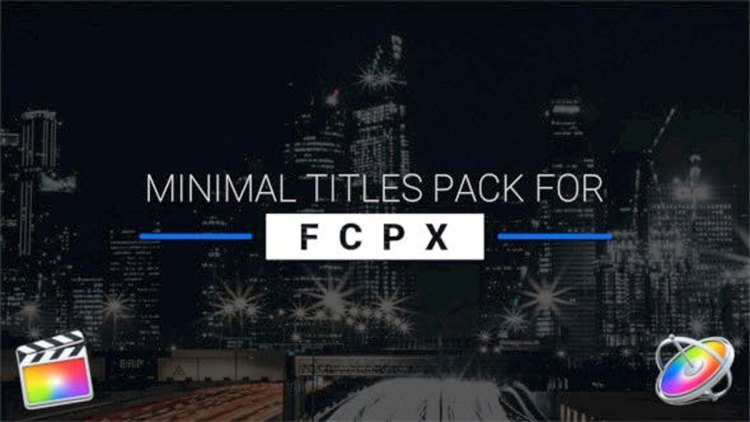 Videohive 9 Minimal Titles Pack for FCPX 21473109