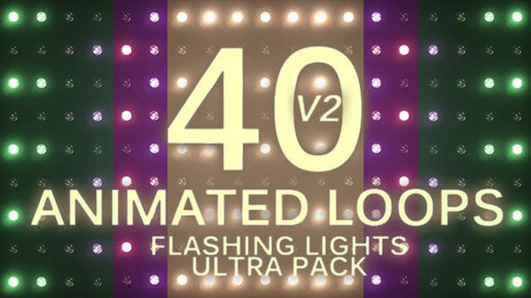 Videohive Flashing Lights Ultra Pack Volume 2 20045160