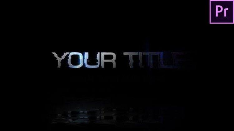 Videohive Glitchy Title 27195511
