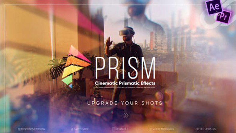 Videohive Prism Cinematic Prismatic Effects V2 27568538