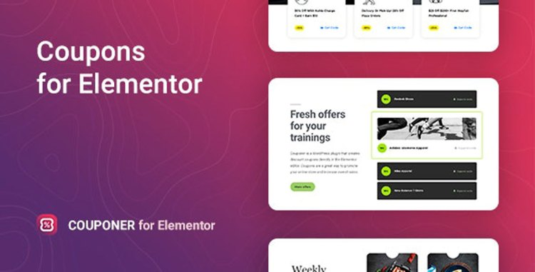 CodeCanyon Couponer v1.0.0 Discount Coupons for Elementor 27835107