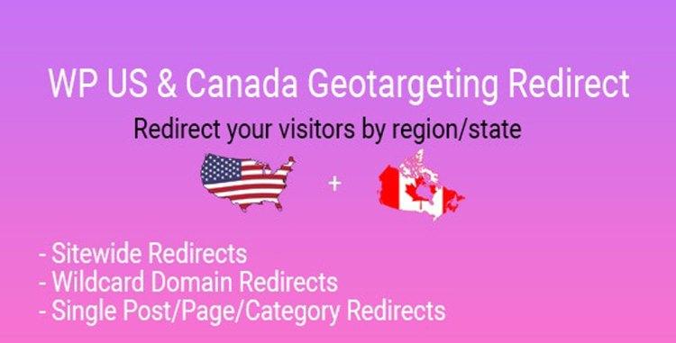 CodeCanyon - WP US&Canada State Geotargeting Redirect v1.0 - 27838092