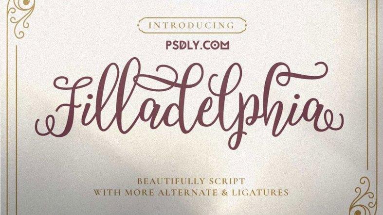 Filladelphia - Beautiful Script