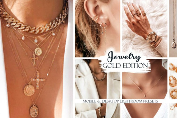Jewelry Lightroom Presets. Gold Edition