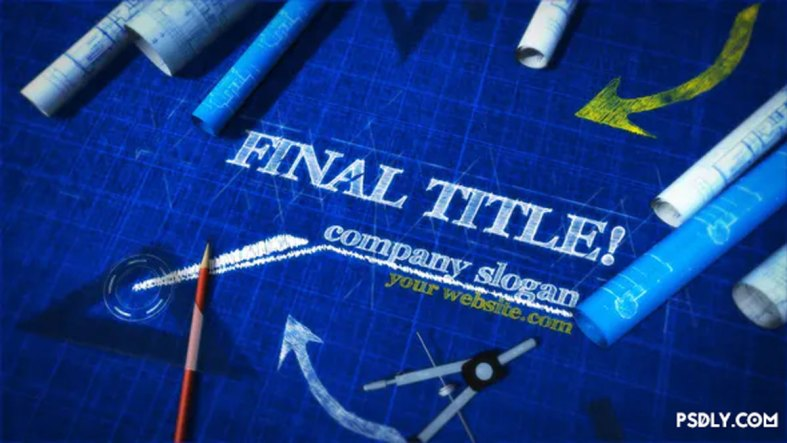 Videohive Blueprint Titles 27895140