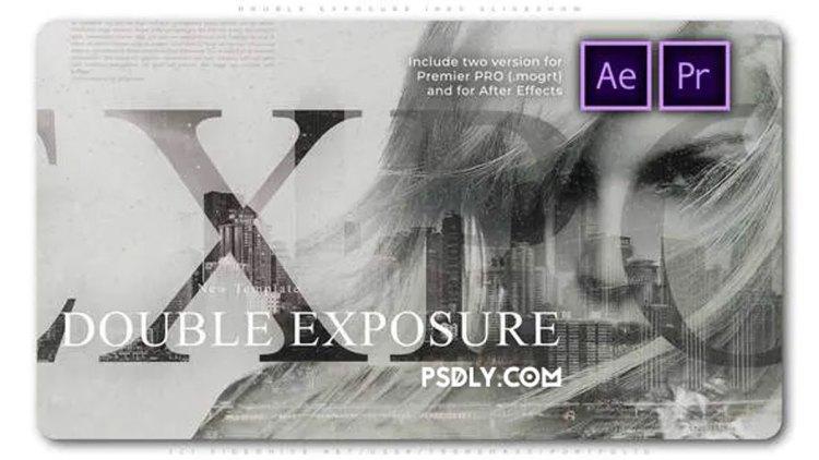 Videohive Double Exposure Inks Slideshow 27934081