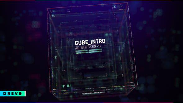 Videohive Cube Intro 28746004