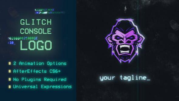 Videohive Glitch Console Logo 22660686
