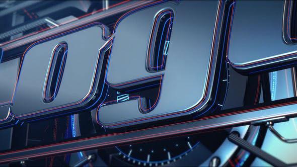 Videohive Industrial Logo 23307355