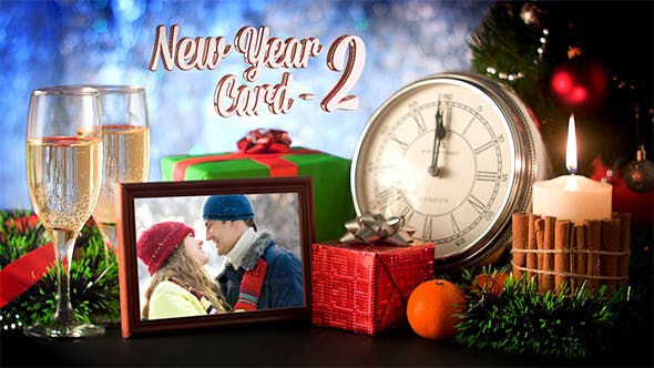 Videohive New Year Card 2 18622628