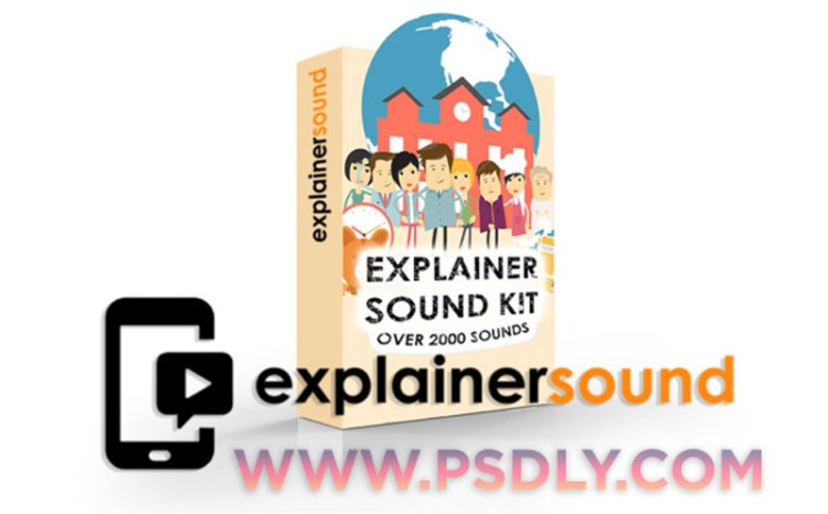 Explainer Sound SFX library – over 2000 sounds for Motion Graphics and Explainer Videos