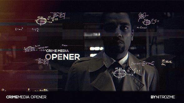 Videohive Crime Media Opener 20478569