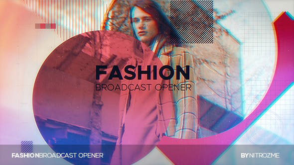 Videohive Fashion Broadcast Opener 20430156