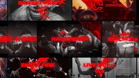 Videohive Halloween Party Promo 28776329