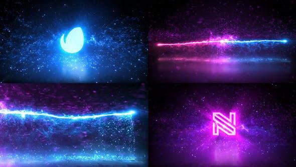 Videohive Magic Particles Logo 28792056