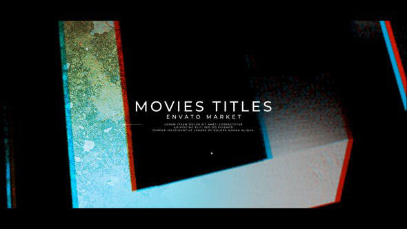 Videohive New Project Movies Titles 25645486