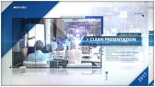 Videohive The Presentation 20943980