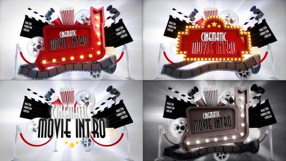 Videohive - Cinematic Movie Titles Bundle - 29417877