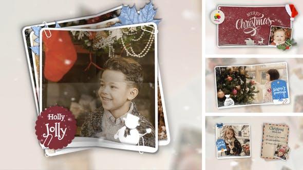 Videohive - Christmas Folded Slideshow - 29359848
