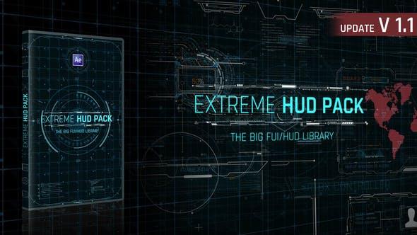Videohive - Extreme HUD Pack V1.1 - 28985545