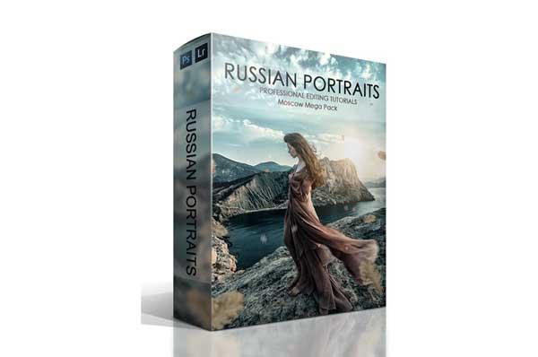 Russian Portraits Moscow Mega Bundle Incl 800 Lightroom Presets PS Actions Complete