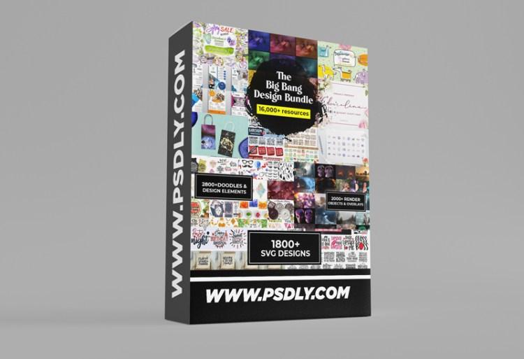 inkydeals — The Big Bang Design Bundle (16000+ iTems)