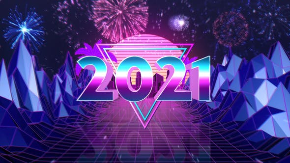 Videohive New Year Countdown - Retro Style 29734009