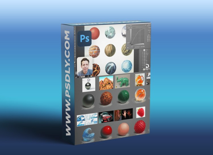 Material Rendering in Photoshop 2020 | Concept Art