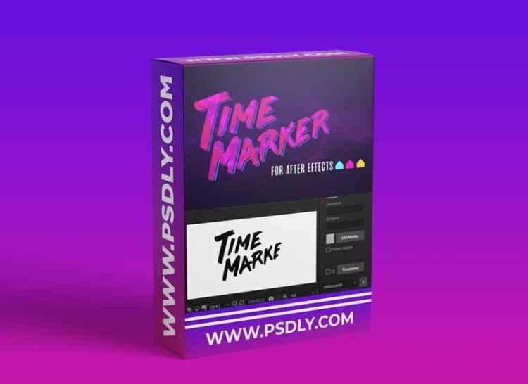 Time Marker v1.0.3 for After Effects Download