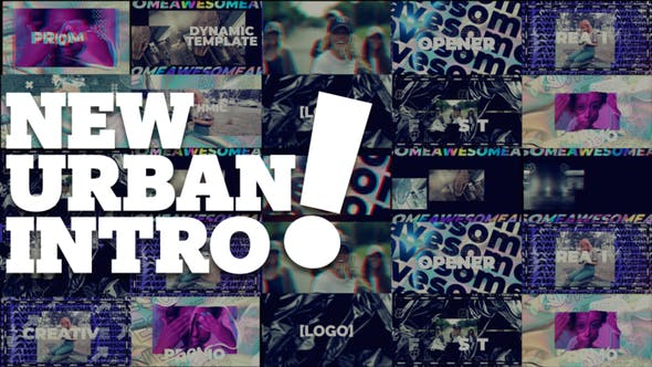 Videohive New Urban Style Intro Opener 29947472