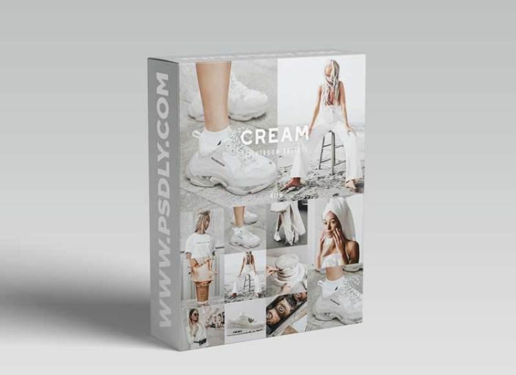 CreativeMarket - 8 CREAM LIGHTROOM PRESET FILTERS 5718439