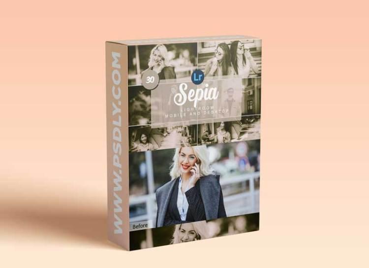 CreativeMarket - Sepia Mobile and Desktop PRESETS 5736424